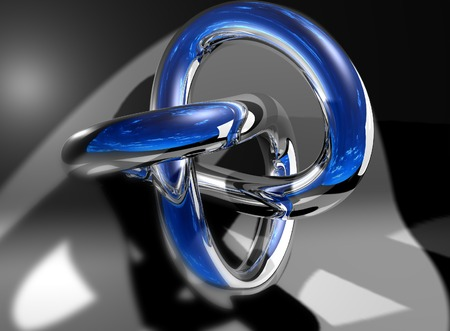 torus made in 3d software photo