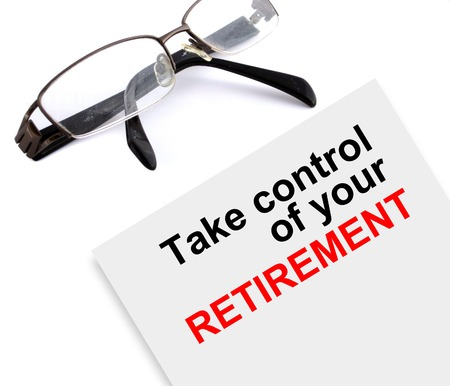 Focus on and take control of your retirement made in 2d software photo