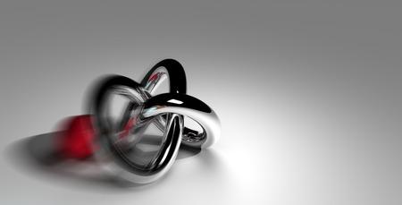 torus: torus knot with red ball
