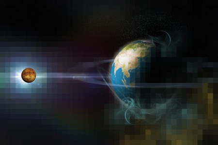 the background of the cosmos photo