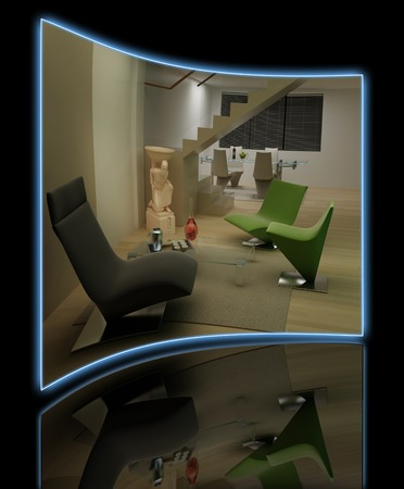 rendering: Home interior 3D rendering