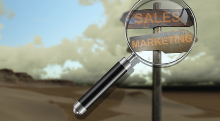 sign direction sales - marketing made in 3d software