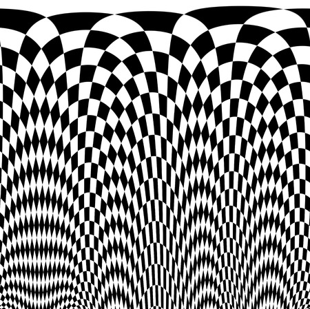 contrasts: checkered texture 3d background  made in 3d software Stock Photo