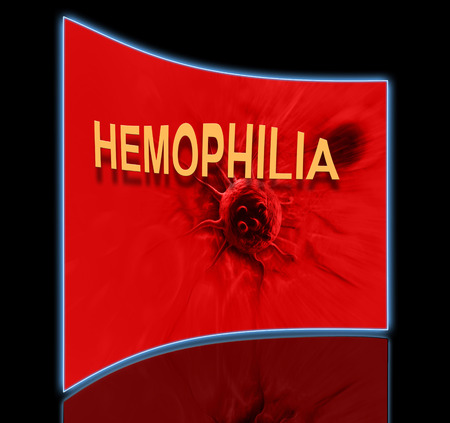affects: The word Hemophilia   representing the blood disorder or disease that affects people who cannot form clots to close wounds