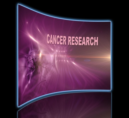 cancer research: word CANCER RESEARCH  writing on  optical flares    background