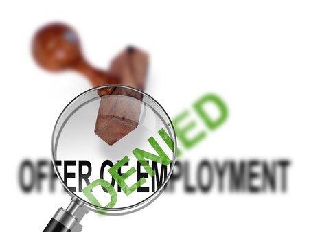 certify: Offer of employment - denied made in 2d software