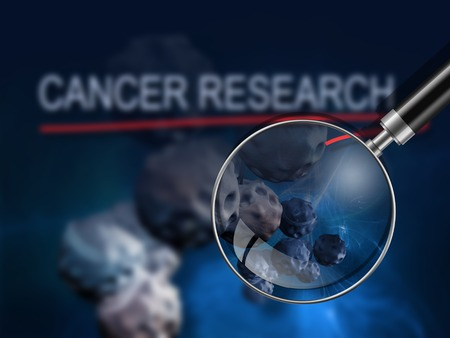 cancer research: word CANCER RESEARCH  writing on  cancer image    background