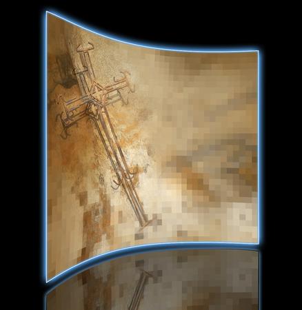 rusty wire: Cross of Rusty Wire