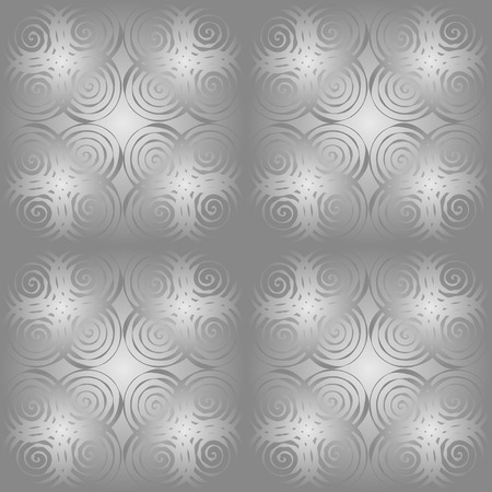 Vector graphic, artistic, seamless pattern with the image of geometric shapes