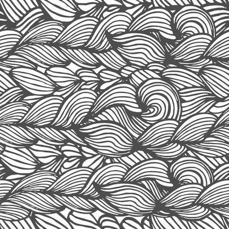interweaving: La grafica vettoriale, artistico, sfondo stilizzato seamless con intreccio di trecce. Abstract background in forma di treccia trecce decorativi. Vettoriali