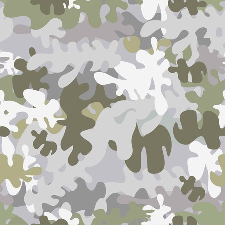 khaki: Vector graphics, artistic, stylized  seamless pattern with the image camouflage. Pattern can be used for fabric design, wallpaper, wrapping papers. Illustration