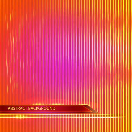 postal card: Abstract  bright background with lines. Postal. Card.