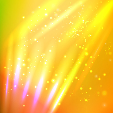 rays light: Vector illustration of abstract background with blurred magic neon light rays. Illustration