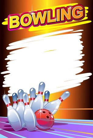 ボウリング ポスター