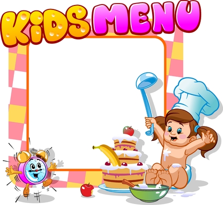 Child menu with alarm clock