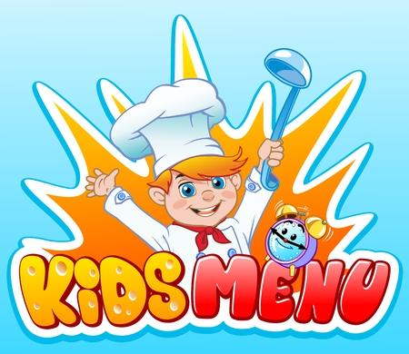 A Logo for the children menu