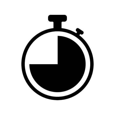 Time icon. Clock vector icon
