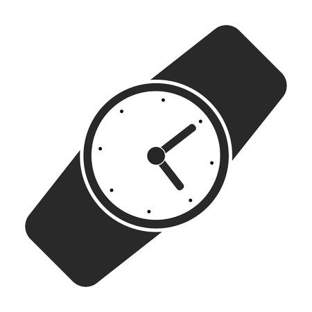 Montre-bracelet icône vecteur Vecteurs
