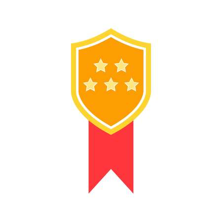 Medal of Honor icon vector. Vector medal. Ilustrace