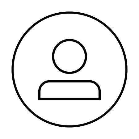people icon. person icon. User Icon in trendy flat style isolated? vector