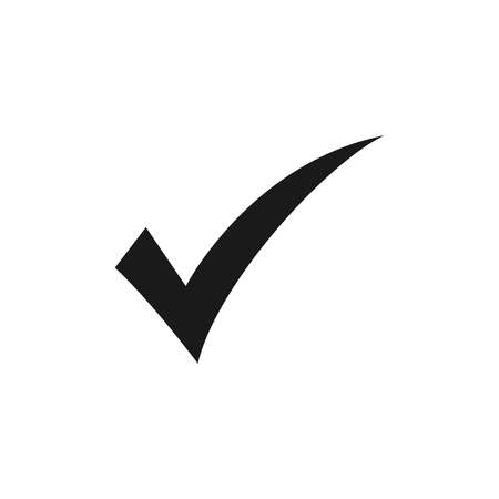 check icon vector. check mark icon. check list button icon. Vector Иллюстрация