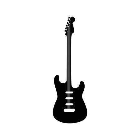 Electric Guitar icon. Vector illustration