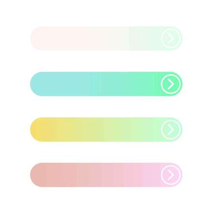 Empty web button on a white background, vector Иллюстрация