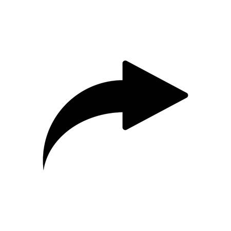 Forward Arrow icon . Next, vector