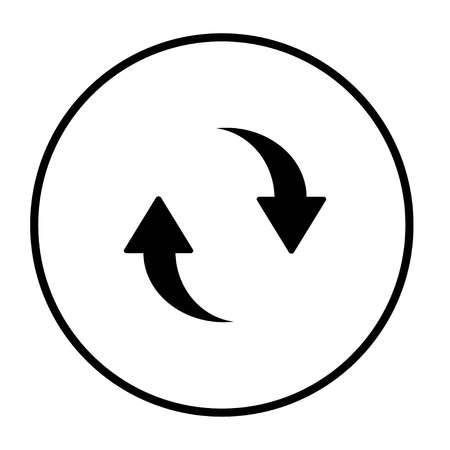 Refresh icon. Update .Reload Vettoriali