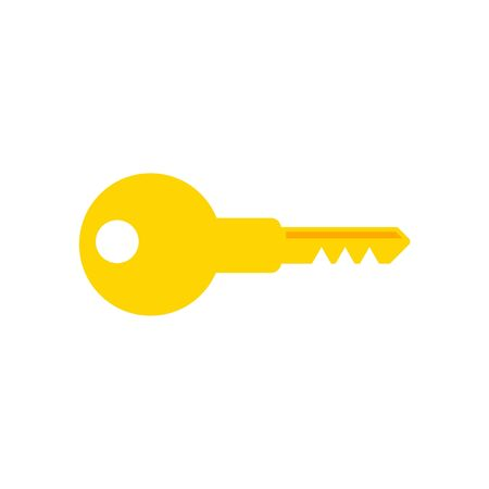 Key icon, vector
