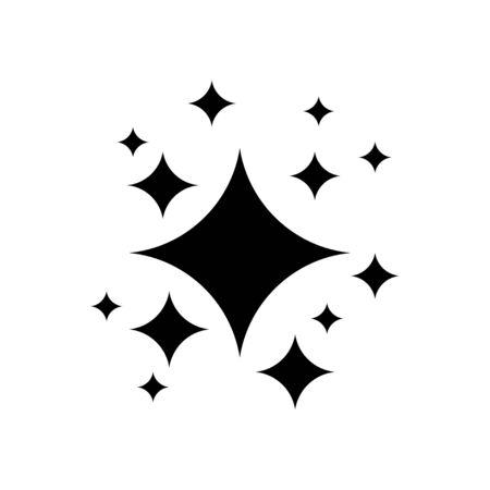 Icon symbol Shine, vector on a white background