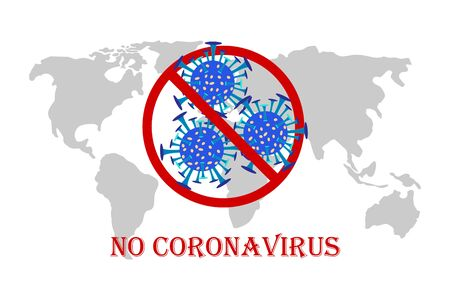 battles Coronavirus outbreak. Coronavirus 2019-nC0V Outbreak, Travel Alert concept. The virus attacks the respiratory tract, pandemic medical health risk