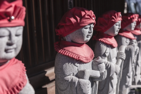 jizo: Jizo Stone statues Stock Photo