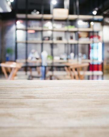 drinks on bar: Table top counter Bar Restaurant Interior blurred background Stock Photo