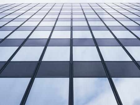 Architecture detail Modern Glass facade Pattern Background