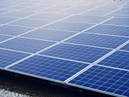 Panneaux solaires écologie économie énergie renouvelable Industrie