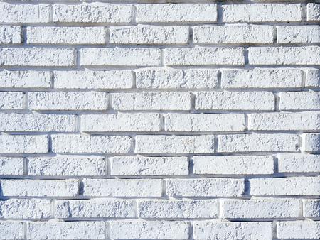 industrail: White brick wall Hipster Loft background