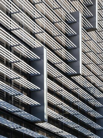 industrail: Architecture details modern Facade Design pattern structure