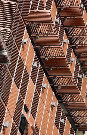 modern architecture: Modern Architecture details Steel facade exterior Stock Photo
