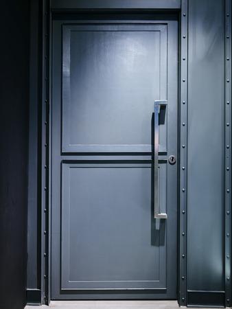 prison system: Metal door Safety zone lock system