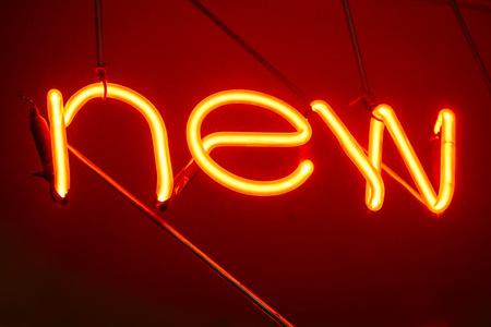 illuminated: Neon Letters NEW Sign Light decoration Type display Design