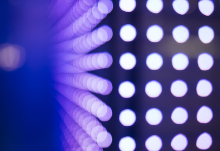 fade: Dot Pattern Technology Abstract background in perspective