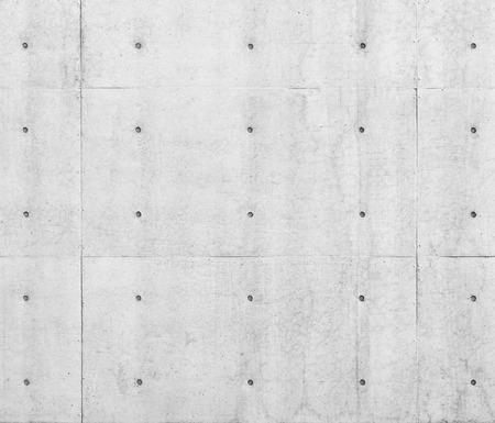 Betonnen muur met puntpatroon Architectuur details Abstract