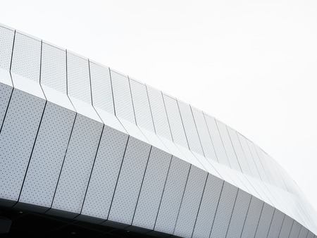 Modern Architecture details Metal facade design Pattern