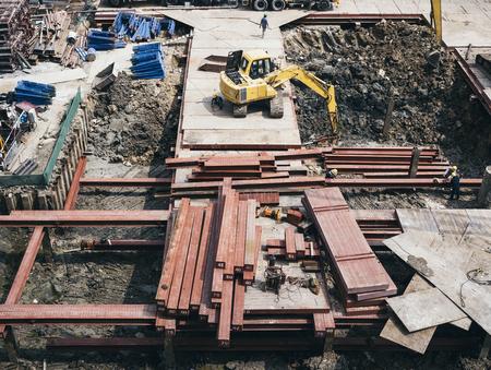 Construction site Architecture building Industrial Imagens