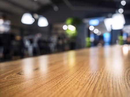 dark brown: Table Top Counter Blurred Bar Restaurant shop Background
