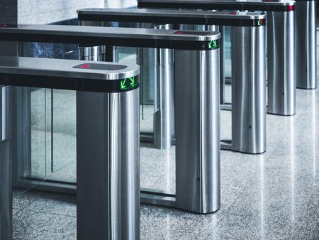 入り口ゲート カード アクセス セキュリティ システム