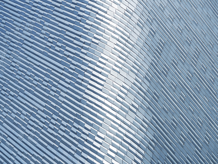 Steel Pattern details Modern Building Facade Architecture details Abstract Background Reklamní fotografie - 76410120