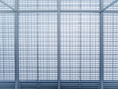 Modern Building Steel Pattern frame Architecture details Abstract Background