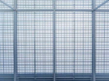 Modern Building Steel Pattern frame Architecture details Abstract Background Reklamní fotografie - 75875838